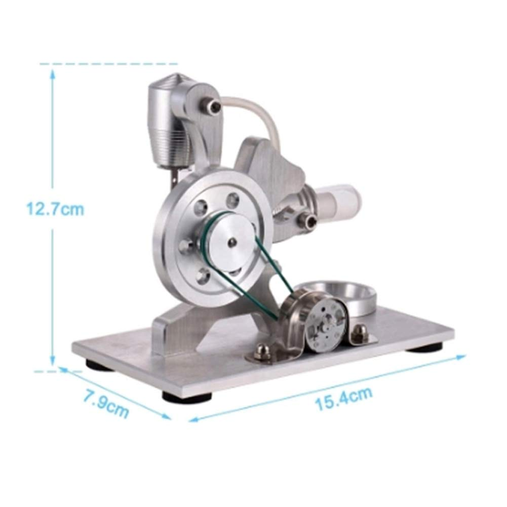 At27clekca Squirrel Hot Air Stirling Engine Model Motor Steam Power Education Toy Electricity Generator by At27clekca (Image #5)