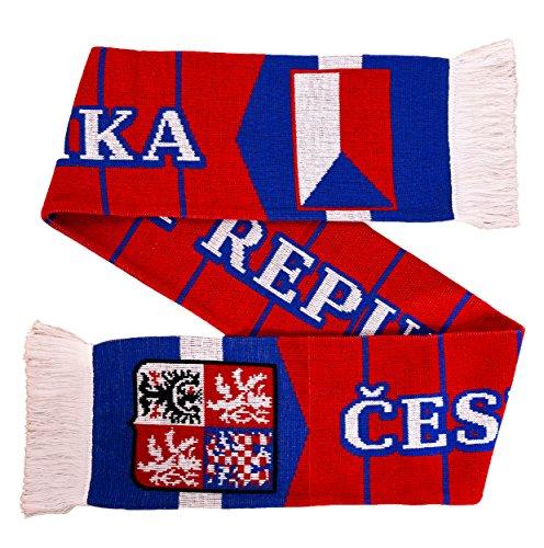 Czechia Czech Republic Soccer Knit Scarf