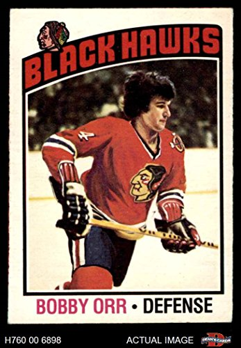 # 213 Bobby Orr Chicago Blackhawks (Hockey Card) Dean's Cards 5 - EX Blackhawks ()