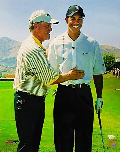 8a00a473063 Jack Nicklaus Signed Photograph - 16x20 w Tiger Woods Fanatics Golden Bear  - Fanatics Authentic Certified