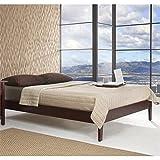Modus Furniture SP18F3 Newport Simple Platform Bed, Twin, Cordovan