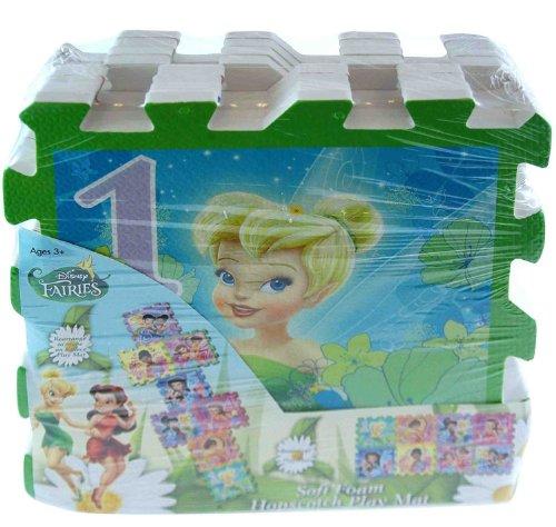 Tinkerbell Fairies 8pc Hopscotch Floor Mat Game by Disney