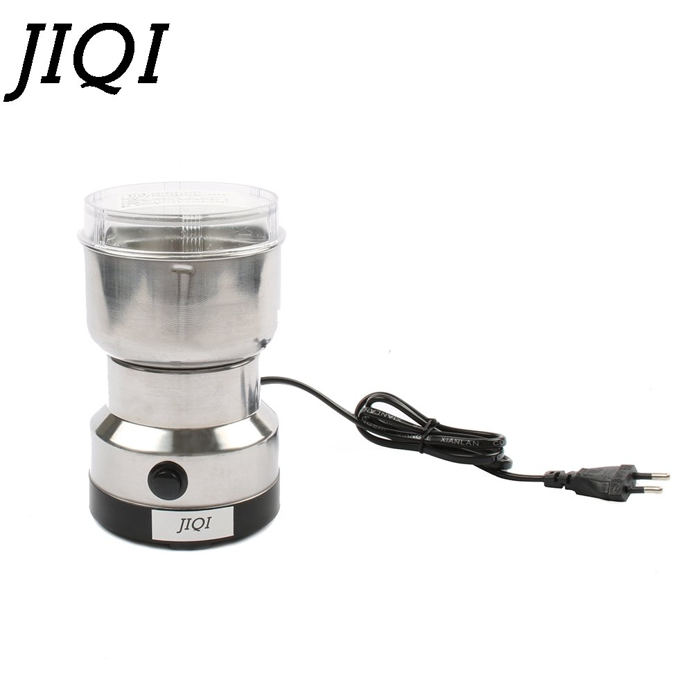 MINI coffee bean grinders Stainless steel Household electric coffee grinding machine Quick Coffee travel mill pulverizer EU plug