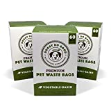 Doggy Do Good Biodegradable Poop Bags | Premium Vegetable-Based Pet Waste Bags That Lessen The Burden on The Environment & Support Rescues, Unscented on Rolls (Green), 180 Count