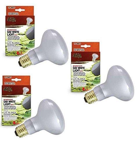 Zilla (3 Pack) Incandescent Spot Heat Bulb 75 Watt