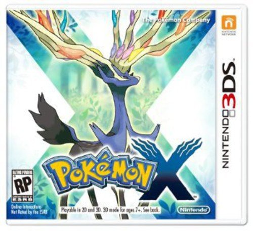Pokemon X nintendo 3ds product image