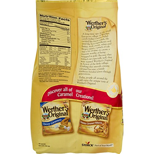 Werther's Original Caramel Hard Candy, 34.0-Ounce Bags (Pack of 5) by  (Image #3)