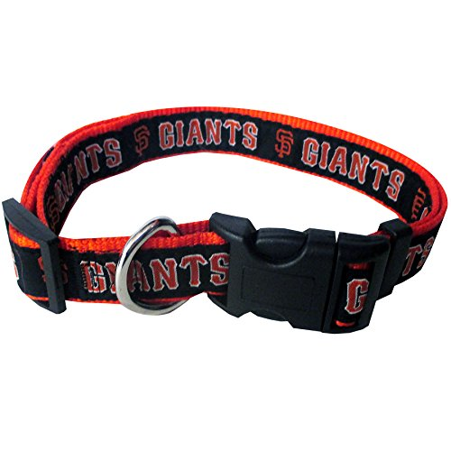 Pets First MLB San Francisco Giants Pet Collar, - Designer Collars Dog Nylon