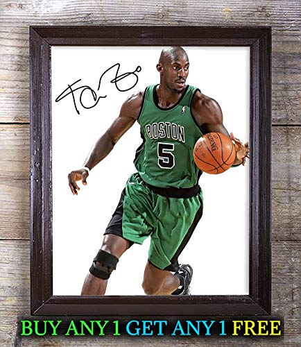 (Kevin Garnett American Basketball Player Autographed 8x10 Photo Reprint #83 Special Unique Gifts Ideas Him Her Best Friends Birthday Christmas Xmas Valentines Anniversary Fathers Mothers Day)