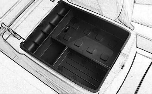 Car Center Console Tray Armrest Secondary Storage Center Console Organize for 2008-2013 toyota Highlander by Kaungka