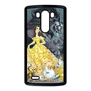 Disneys Beauty And The Beast LG G3 Cell Phone Case Black PhoneAccessory LSX_874311