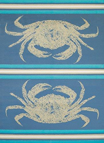 United Weavers of America Panama Jack Stone Crab Stain Resistant Rug, 5' 3