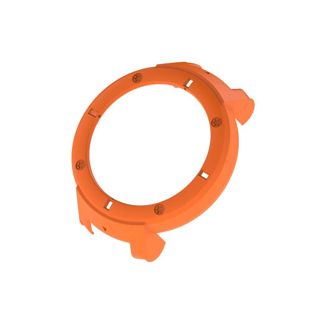 SIKAI Coque de Protection Anti-Rayures Compatible avec Amazfit Verge Smartwatch Slim Frame Colorful PC Protector Skin Compatible Amazfit 3 Ultra-Light Shell Skin