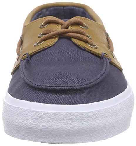 Vans Chauffeur SF (Gewaschen Schwarz) Herren Skate Schuhe (C & l) Marine / Chambray