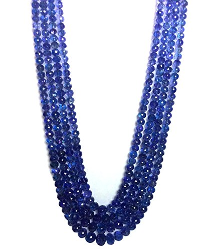 Faceted Roundel Bead Necklace - 5