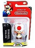World of Nintendo Super Mario Toad 2.5' Mini Figure