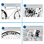 CPY-EX-Mountain-Bike-da-26-Pollici-Doppio-Freno-a-Disco-30-Blade-Bici-per-Uomini-e-Donne-Bici-Road-Inflatable-Tyre