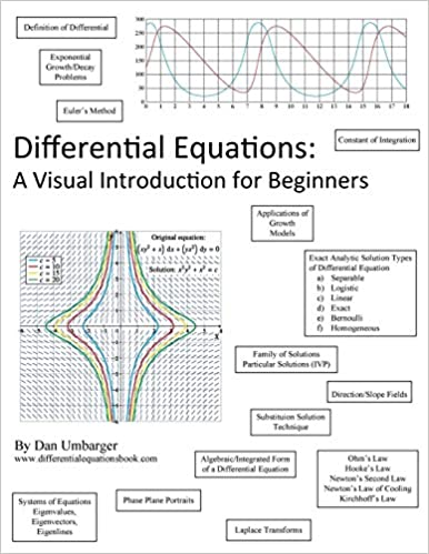 Differential Equations: A Visual Introduction For Beginners: Dan Umbarger,  John Morris: 9780983397366: Amazon.com: Books