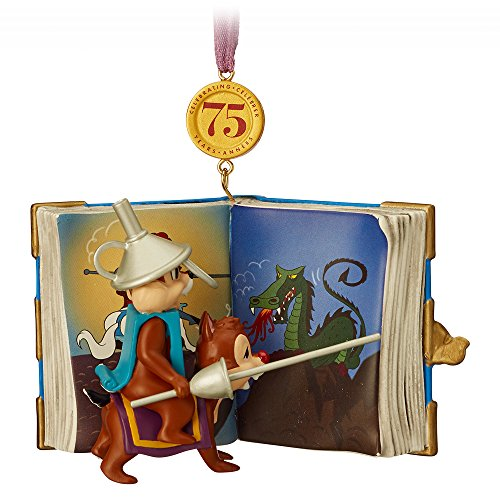 Chip Dale Christmas - Disney Chip 'n Dale Legacy Sketchbook Ornament - Limited Release