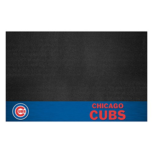 FANMATS MLB Chicago Cubs Vinyl Grill Mat from Fanmats