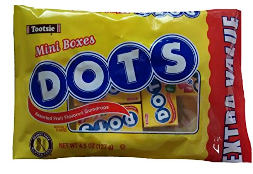 Tootsie Dots Assorted Fruit Flavored Gumdrops Mini Boxes]()