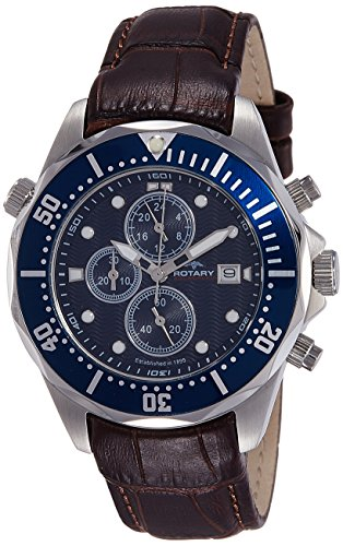 Rotary AGS00070/C/05 Mens Aquaspeed Chronograph Watch w/ Date