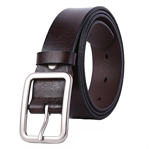 WHIPPY New Arrival Jeans Belt for Women Genuine Leather Belt with Pin (Jean Reversible Belt)