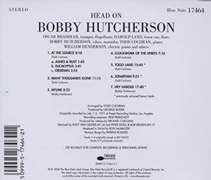 HUTCHERSON, BOBBY - Head On - Amazon.com Music