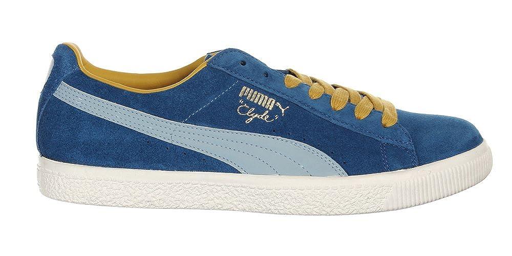 e44db15c4603 Puma Clyde Script Mens Trainers UK6.5 (351907 16 U105)  Amazon.co.uk  Shoes    Bags