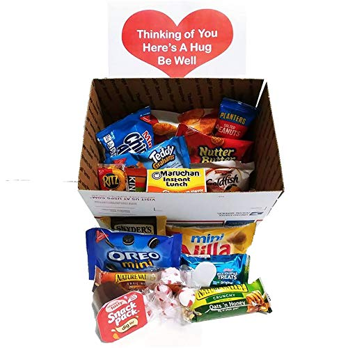 - Get Well Care Package Snacks: for Men and Women