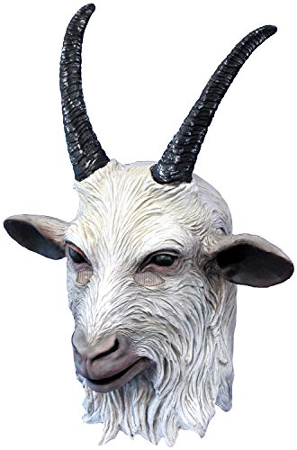 Rubie's Men's Suicide Squad Deluxe Overhead Goat Mask, Multi, One Size