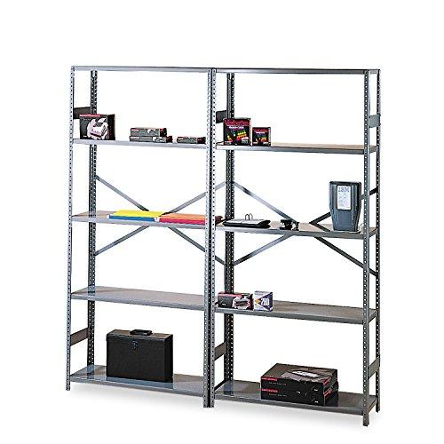 Tennsco Commercial Shelf - 36quot; x 18quot; x 75quot; - Steel - 6 x Shelf(ves) - Medium -