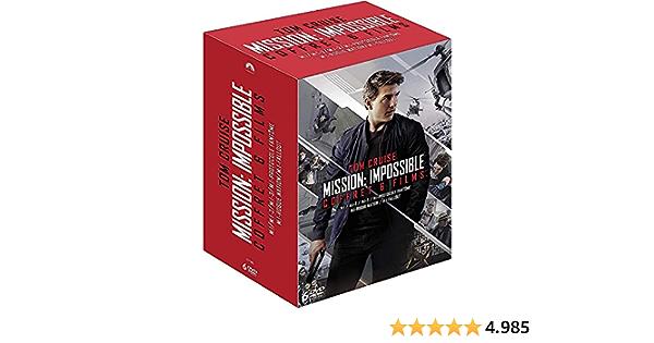 Mission : Impossible - Lintégrale des 6 films [Francia] [DVD]
