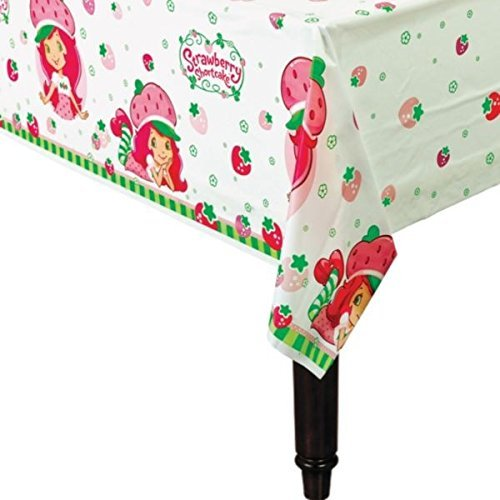 American Greetings Strawberry Shortcake Plastic Table Cover, 54 x 96'' by American Greetings