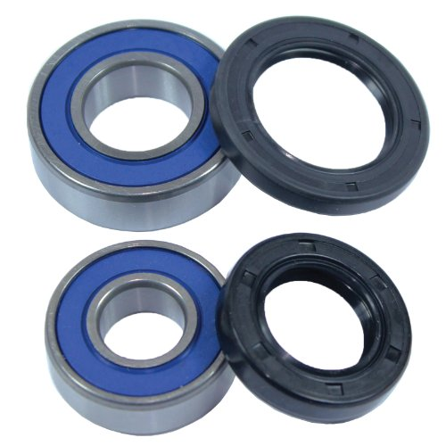 Caltric Front Wheel BALL BEARINGS & SEALS KIT Fits HONDA TRX400EX TRX400-EX FOURTRAX 400EX 1999 2000 2001 (400ex Front Wheel Bearings compare prices)