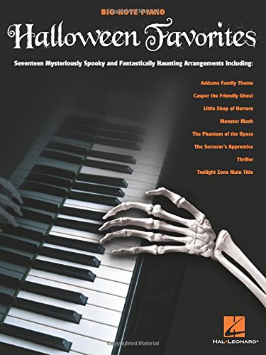 Halloween Favorites (Big-note Piano) -
