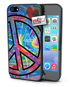 Lifebox - Cute Colorful Peace Sign Designer Case for iPhone 5/5s