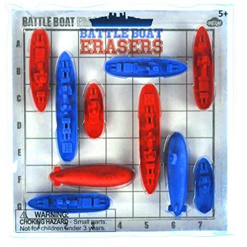 New Battleboat Erasers - Classic Battleships