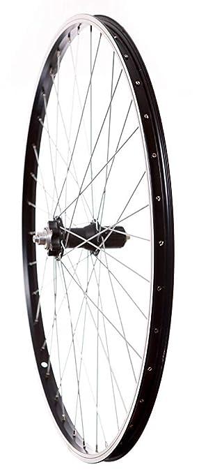 700 C Q/R HYBRID - Freno de disco trasero bicicleta rueda 7/8/para bicicleta (color negro: Amazon.es: Deportes y aire libre
