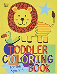 Toddler Coloring Book For Kids Ages 2-4: Preschool or Pre-K learning and educational activities. Letters (Alph