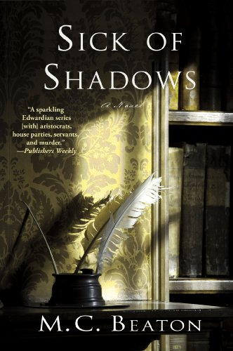 Sick of Shadows: An Edwardian Murder Mystery (Edwardian Murder Mysteries Book 3)