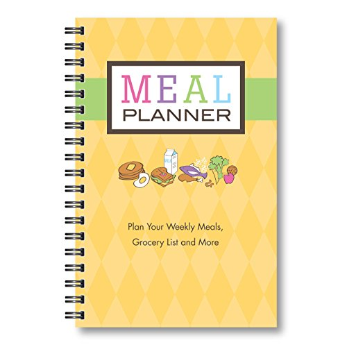 Meal Planner (Yellow) (Meal Planning Calendar)