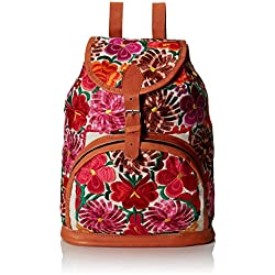 Uttara HB0134 Mochila Escolar, Unisex-Adulto, color Multicolor, Mediano