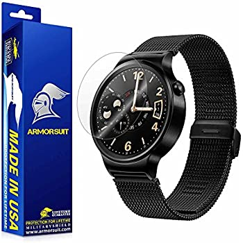 ArmorSuit MilitaryShield - HUAWEI Watch Screen Protector [2-Pack] Anti- Bubble and Extream Clarity HD Shield with Lifetime Replacements