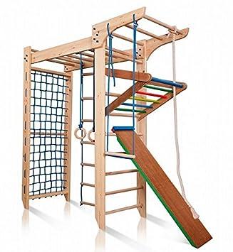 Klettergerüst Kinderzimmer funnyclouds kinder kletterwand piccolo 5 240 sprossenwand turnwand