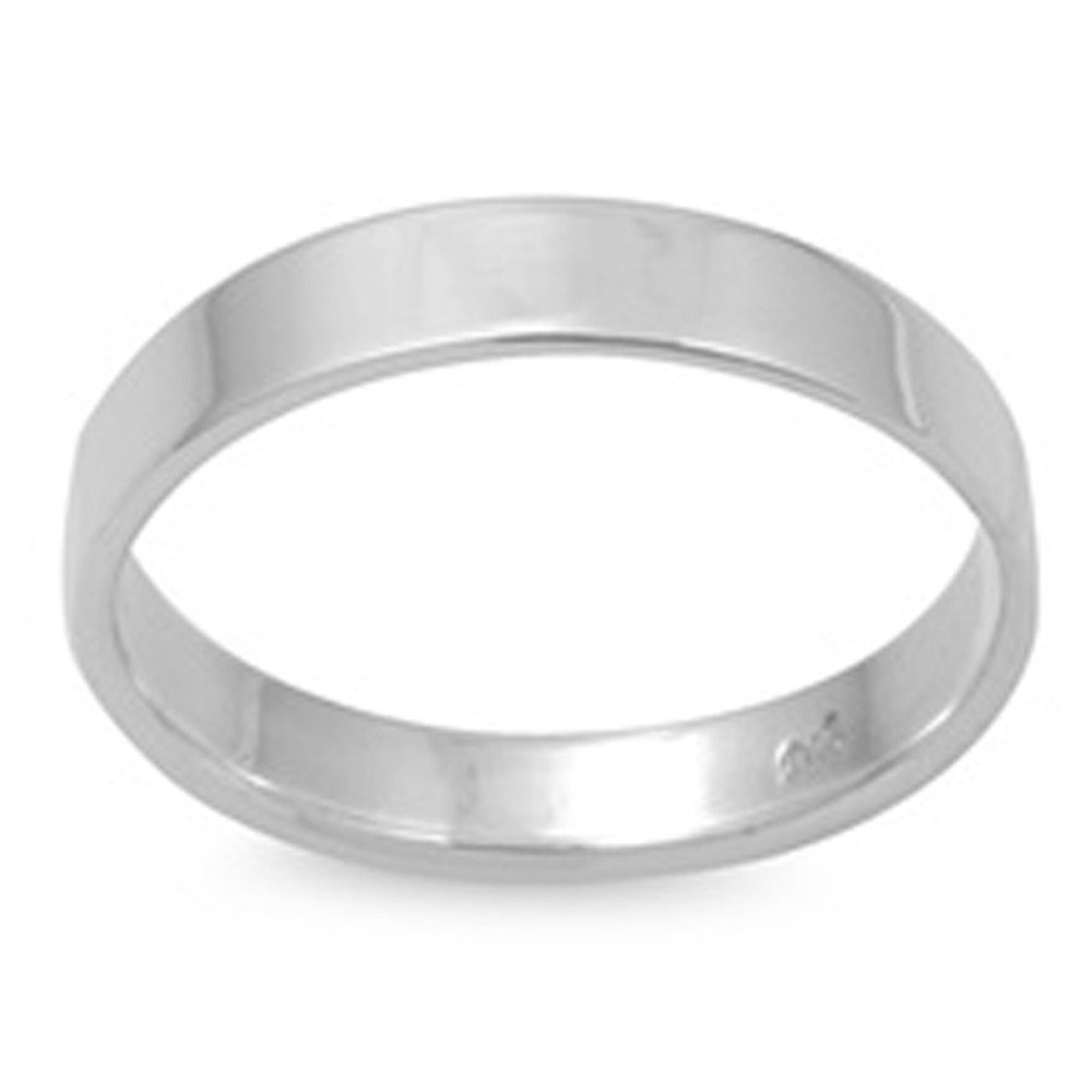 2mm to 10mm XP Jewelry Solid Sterling Silver Wedding Band Ring