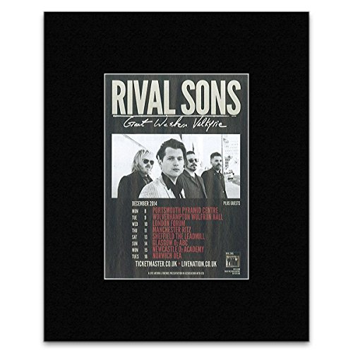 rival sons poster - 7