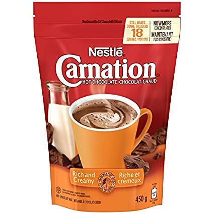(Nestle Carnation Rich and Creamy Hot Chocolate Mix, 450g {Imported from Canada})
