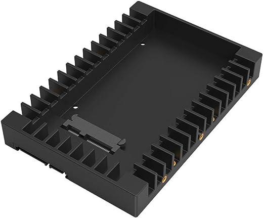 HWENJ Adaptador De Disco Duro De 2.5 A 3.5 Pulgadas SSD HDD ...