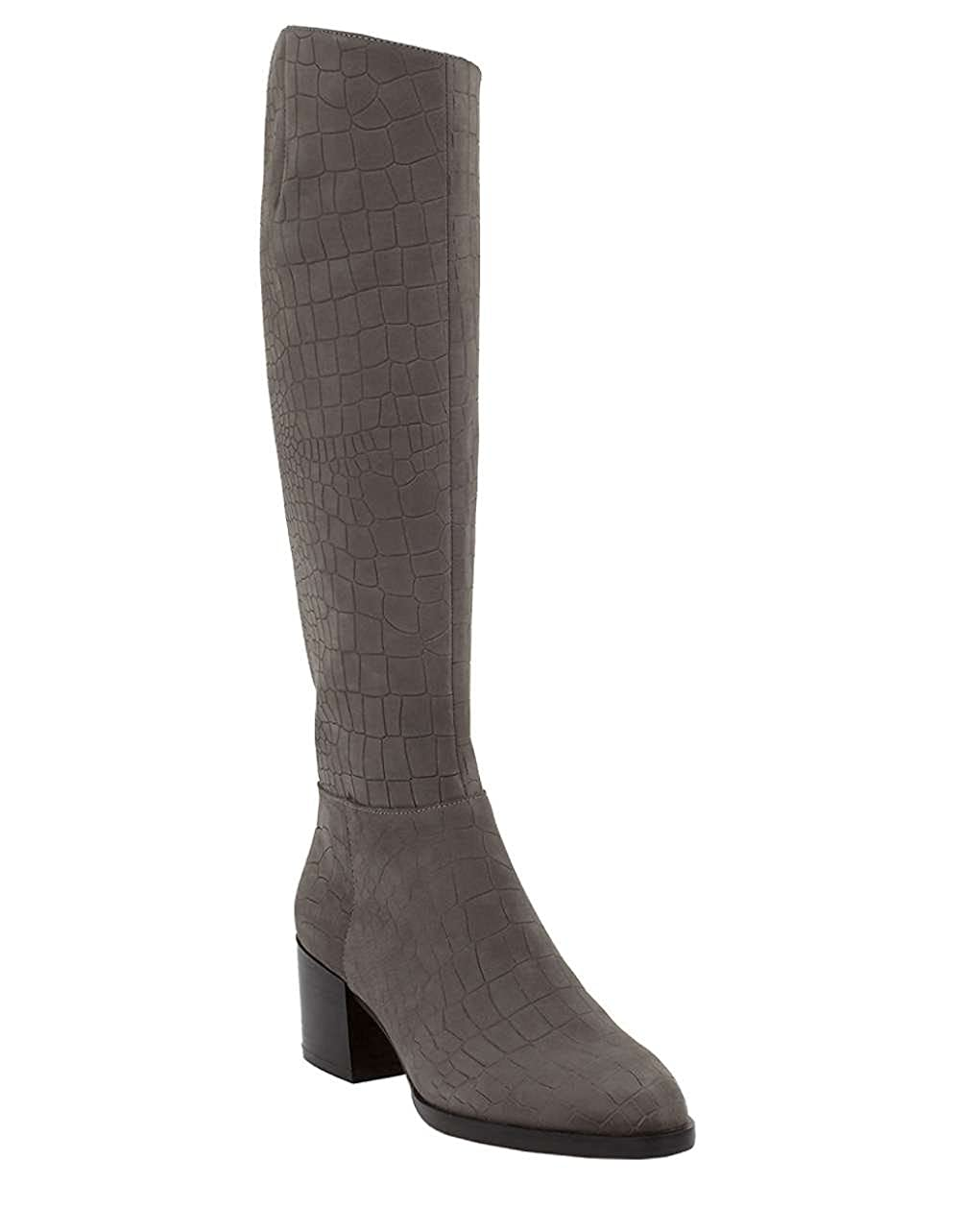 b34c62bb8d20a Sam Edelman Women s Joelle Steel Grey Boot  Buy Online at Low Prices in  India - Amazon.in